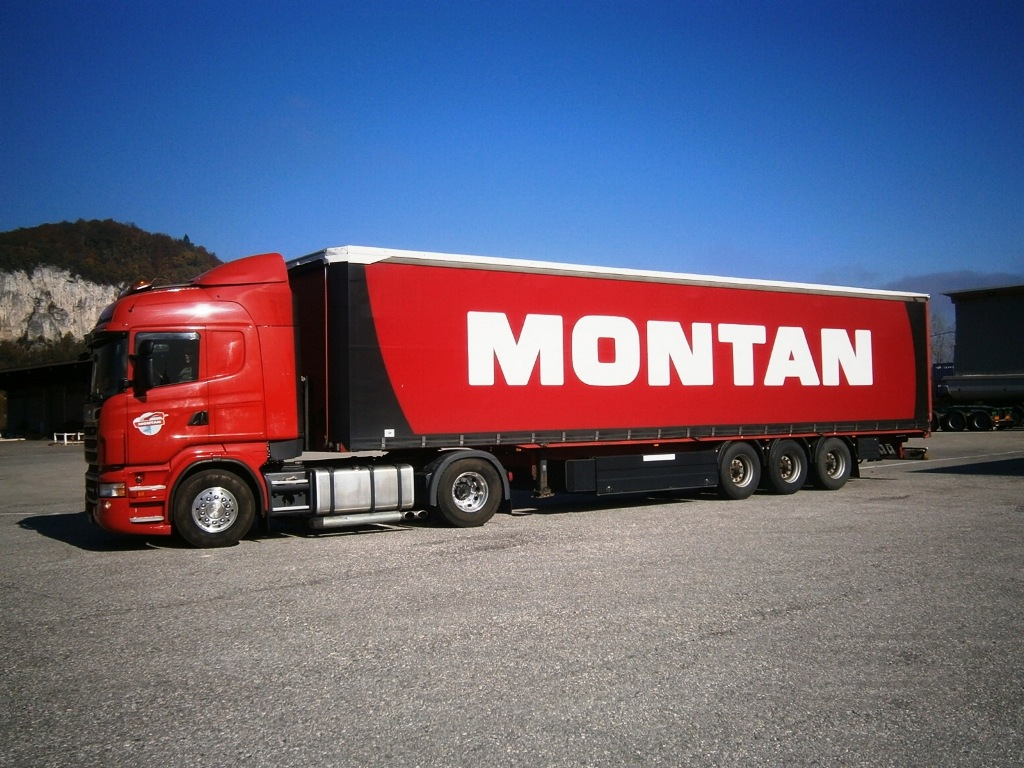Montansped - TRUCK TRANSPORT
